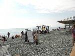 Лазаревское пляж и набережная район  ул. Багратиона, Речная