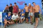 команда Лазаревское пляжный отдых