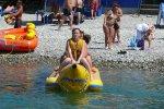 Отдых в Лазаревское пляжные развлечения