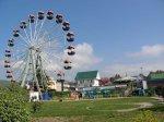 Лазаревское в мае  2010 Парк Культуры и Отдыха, колесо обозрения