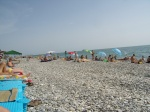 пляж Лазаревское 2009 год