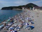 пляж в Ольгинке