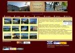 сайт гостиницы Христофор Колумб Лазаревское  индивидуальный дизайн www.marin-tur.ru