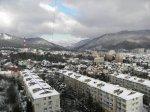 Лазаревское 2012 зимой, снег