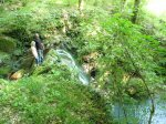 водопады в Солониках п. Мирный