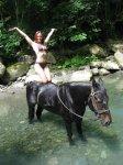 Конные прогулки к водопадам Лазаревское п. Мирный