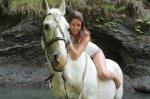 Лазаревское катание на лошадях