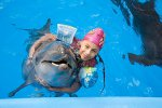 Дельфинотерапия-лечение детей инвалидов